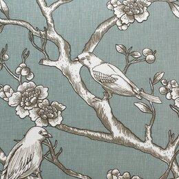 Vintage Blossom Fabric - Jade