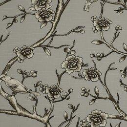 Vintage Blossom Fabric - Dove