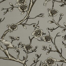 Vintage Blossom Fabric - Dove