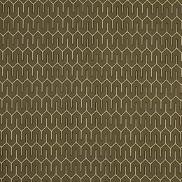 Maze Work Fabric - Brindle