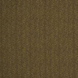 Mini Zigzag Fabric - Major Brown