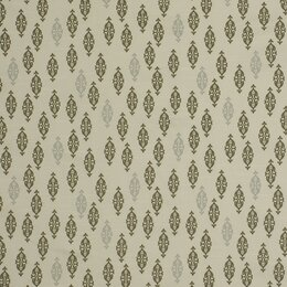 Boteh Fabric - Brindle