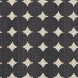 Ikat Dot Fabric - Black