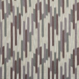 Ikat Blocks Fabric - Amethyst