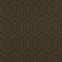 Dotted Trellis Fabric - Dove