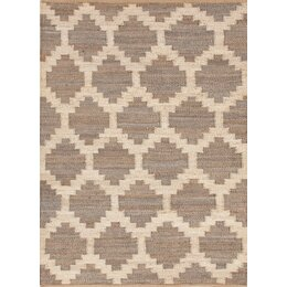 Feza Rug in Medium Grey