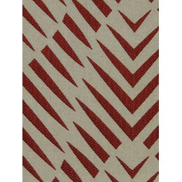 Zebra Geo Fabric - Currant