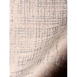 Etched Velvet Fabric - Dove