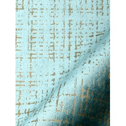 Etched Velvet Fabric - Green