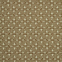 Triangle Maze Fabric - Copper