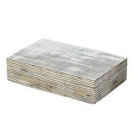Pin Stripe Bone Box