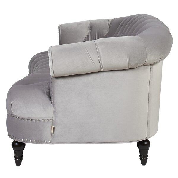 rita 85 velvet sofa joss main. Black Bedroom Furniture Sets. Home Design Ideas