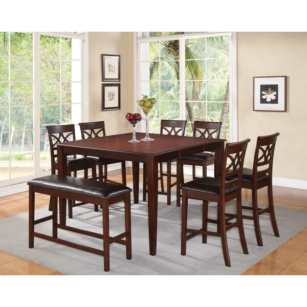 Dunham Counter Height Extendable Dining Table Joss & Main