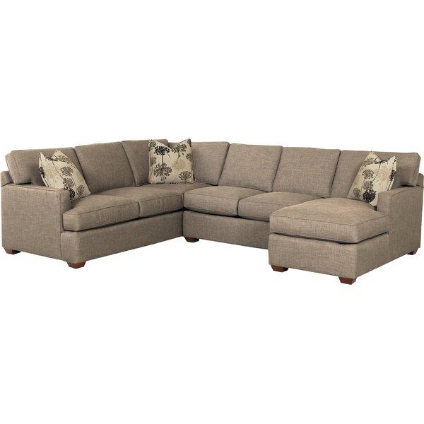 Regina 120quot sectional sofa joss main for Sectional sofa 120