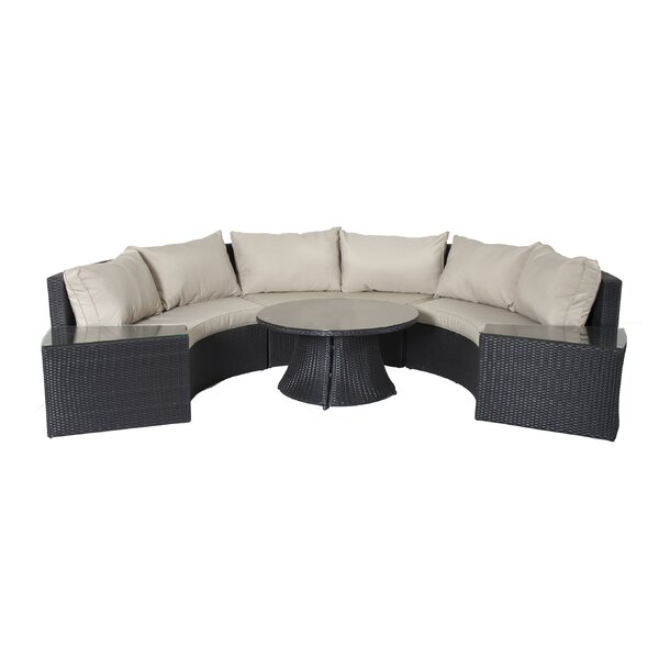 6 piece langley patio seating group joss main for Outdoor furniture langley