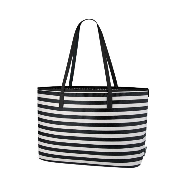 dwellstudio mini stripe ink madison diaper bag dwellstudio