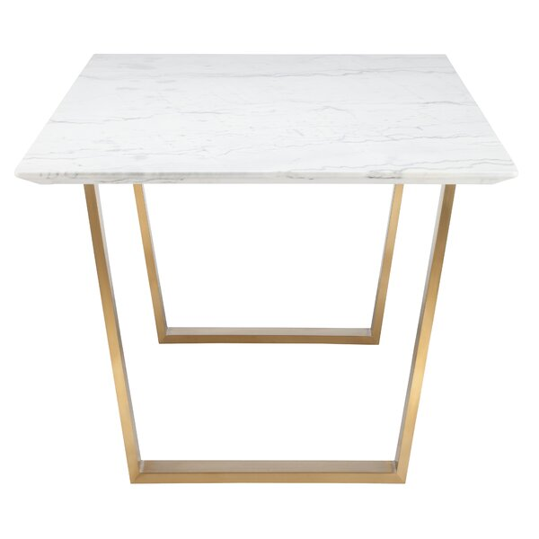DwellStudio Zion Marble Dining Table DwellStudio