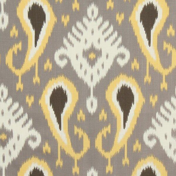 Batavia Ikat Fabric - Citrine