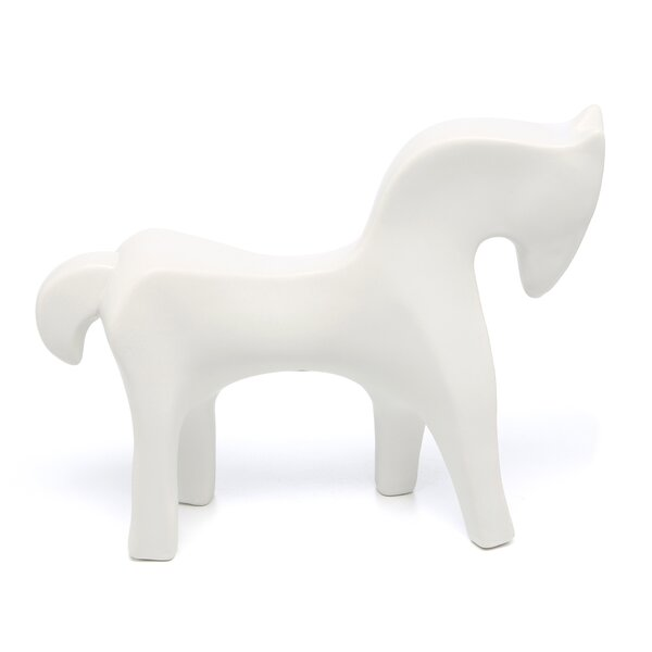 Horse Object in White
