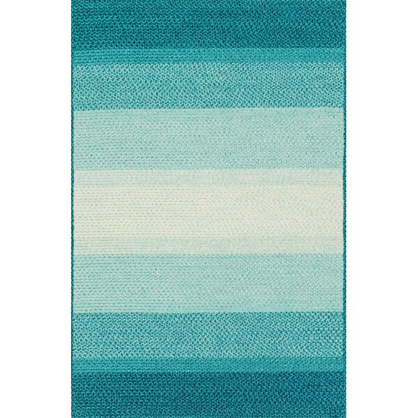 Jenson Indoor Outdoor Rug in Blue