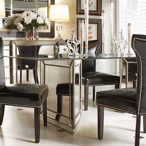 sorrel mirrored dining table joss main