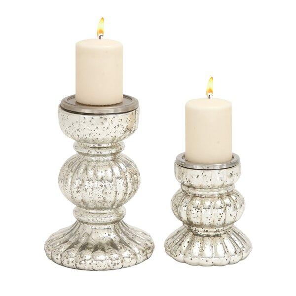 Joss & Main 2-Piece Dyanna Candleholder Set