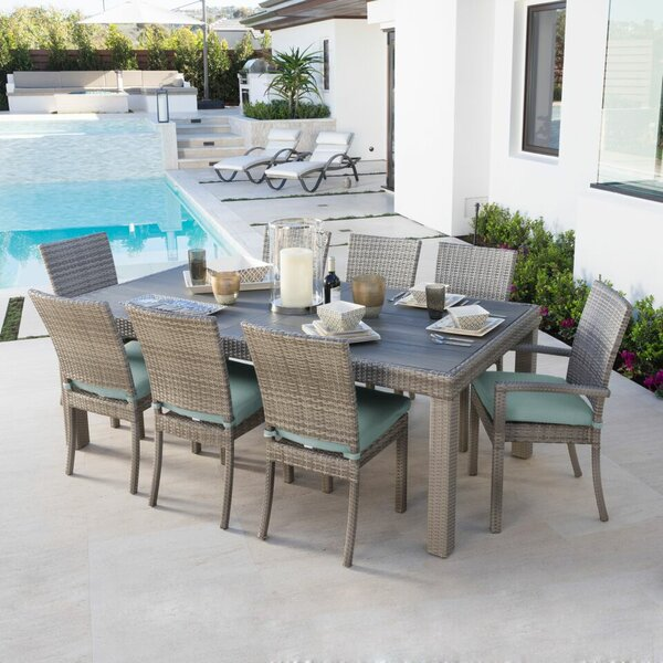 9 Piece Cannes Patio Dining Set
