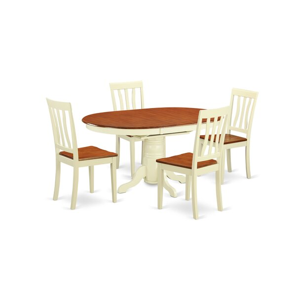 5 piece sophia dining set joss main