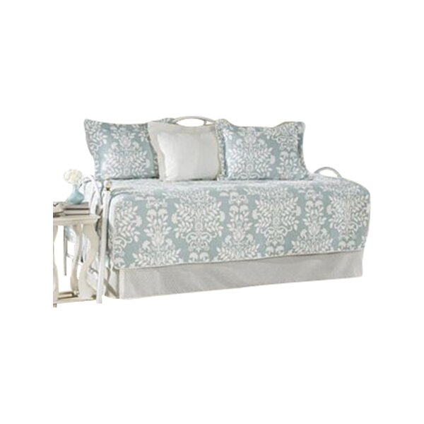 5-Piece Rowland Cotton Daybed Quilt Set In Breeze By Laura