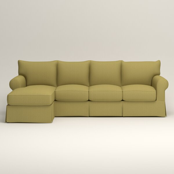 Birch Lane Jameson Sleeper Sofa With Chaise Birch Lane