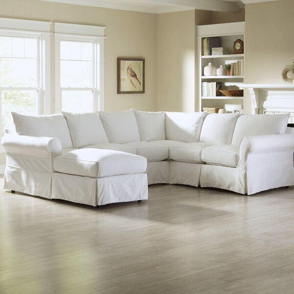 Jordan 119 sectional sofa joss main for Jordan linen modern living room sofa