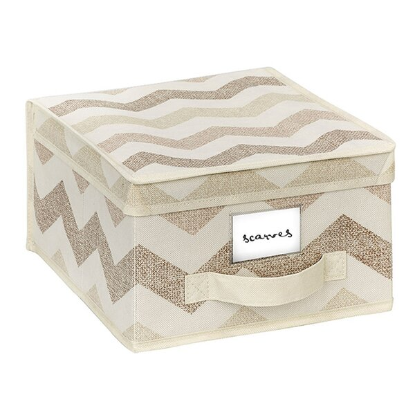 Joss & Main Chevron Storage Box