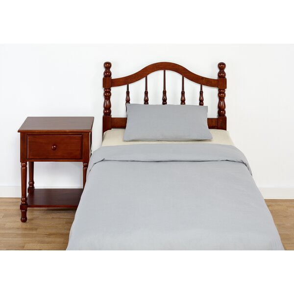 Traditional style wood headboard in cherry finish joss Traditional wood headboard