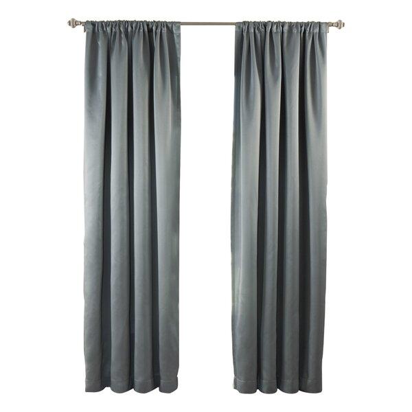 Blackout Rod Pocket Curtain Panel   Joss & Main