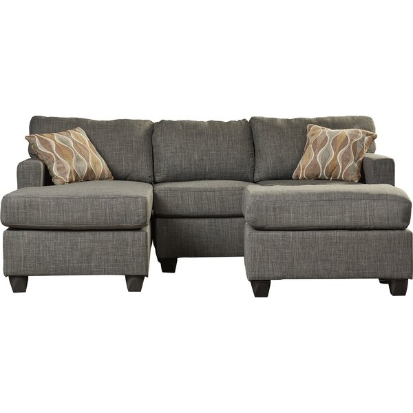 Blackwell 83quot sectional sofa joss main for 83 sectional sofa