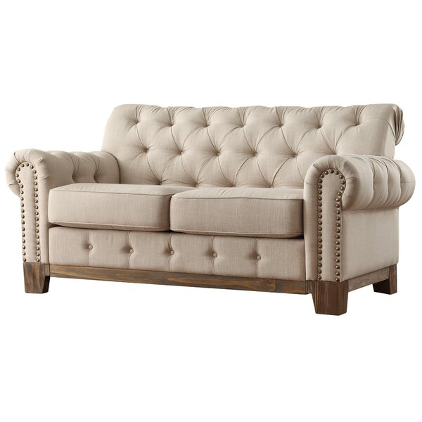 "Kelsey 65 35"" Tufted Loveseat"