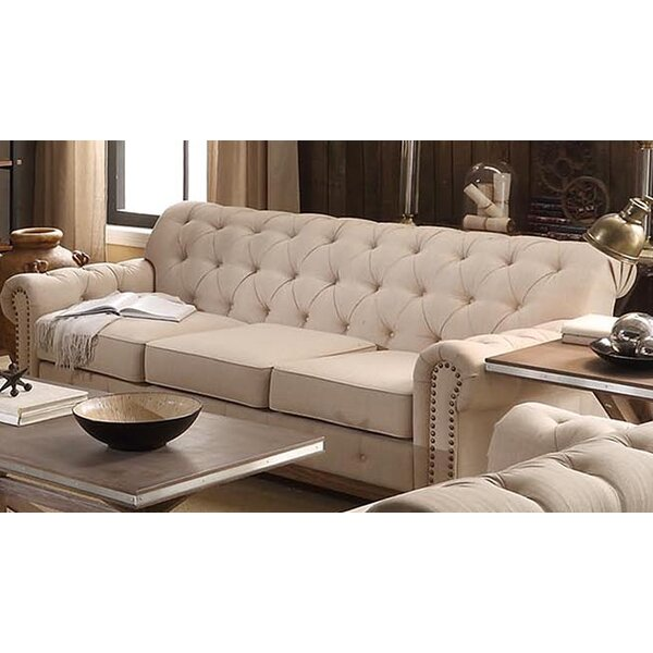 Kelsey 88 Tufted Sofa