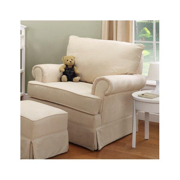2 Piece Astrid Glider Arm Chair Amp Ottoman Set Joss Amp Main