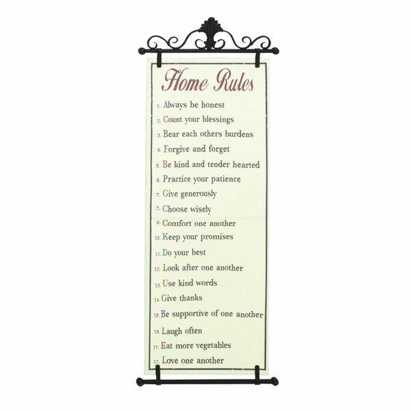 Home Rules Wall Decor Joss Main
