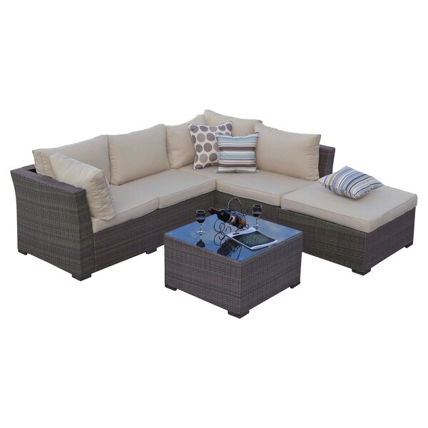 5 Piece Lulu Patio Seating Group
