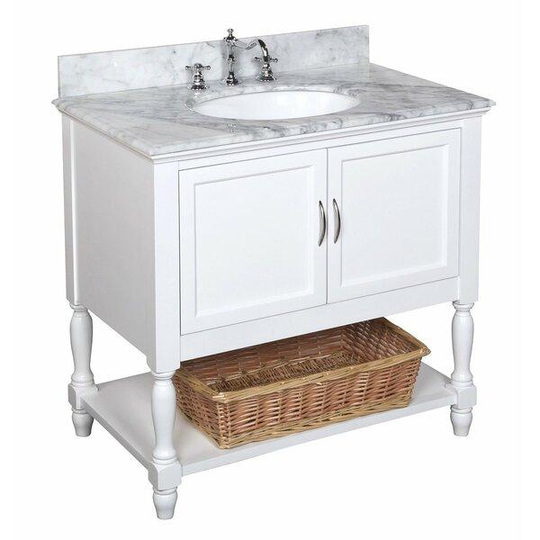 beverly 36 quot single bathroom vanity set by kitchen bath