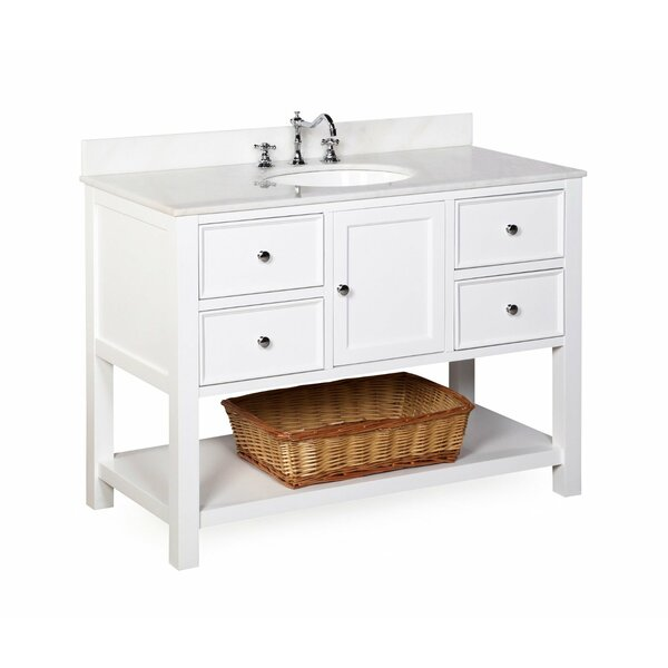 new yorker 48 quot single bathroom vanity set by kitchen bath
