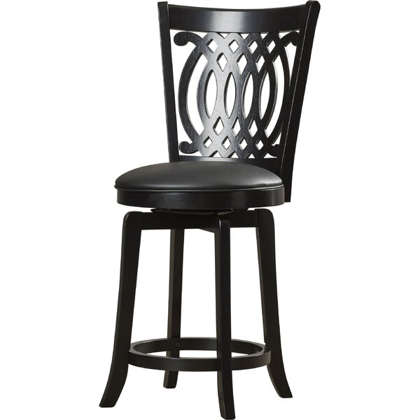Journey 24 Quot Swivel Bar Stool With Cushion Joss Amp Main