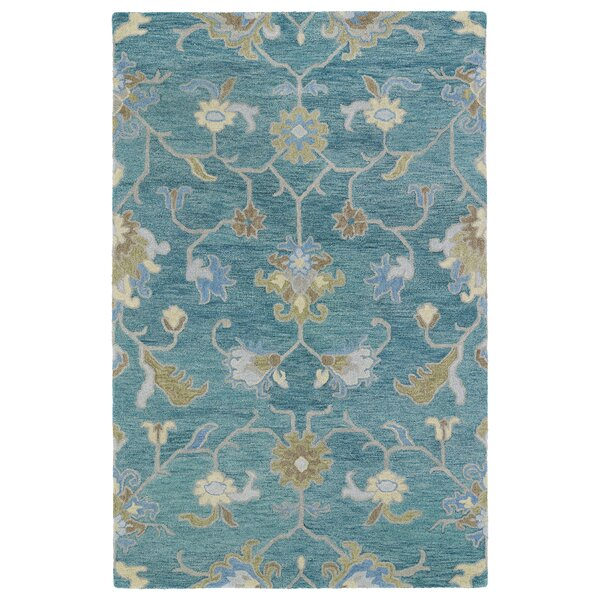 Kaleen Helena Rug Turq: Ashley Rug In Turquoise