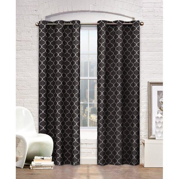 Trellis Grommet Curtain Panel | Joss & Main