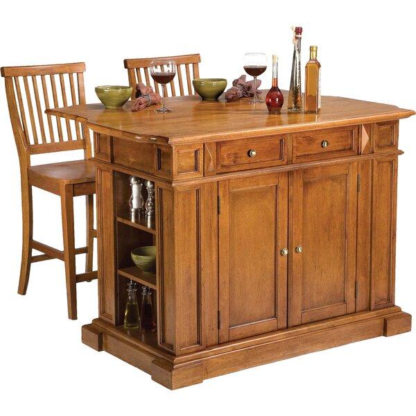 3 ambrose kitchen island set joss