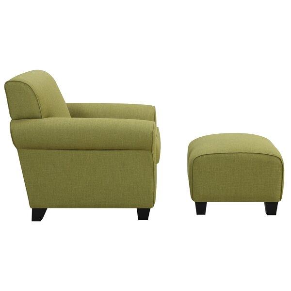 2 Piece Winnetka Arm Chair Amp Ottoman Set Joss Amp Main