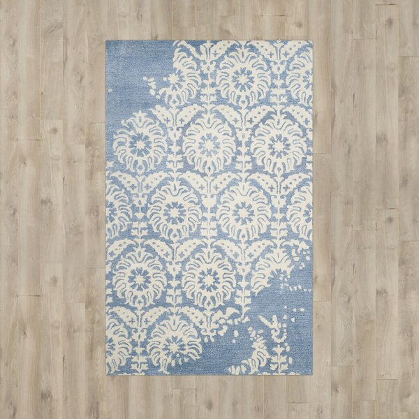 Bonnie Rug In Light Blue Amp Ivory Joss Amp Main