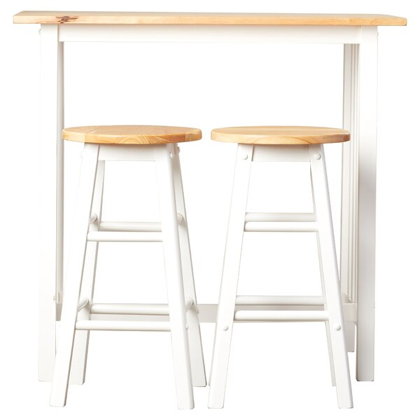 3 Piece Sasha Pub Table Set Joss Amp Main