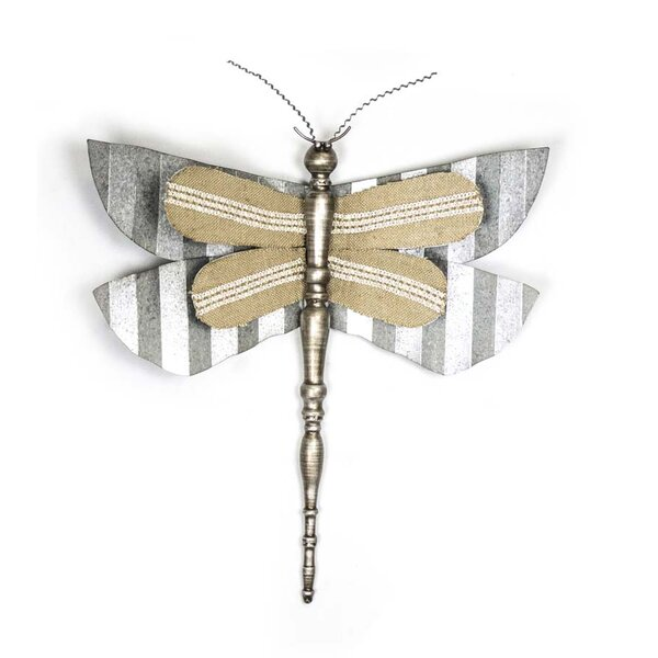Metal Dragonfly Wall Decor